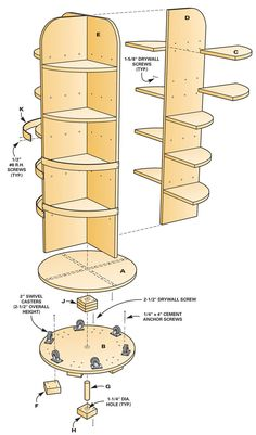 Six Small Shop Solutions AW Extra - Small Shop Solutions - Popular Woodworking Magazine Small Woodworking Shop Ideas, Popular Woodworking, Woodworking Crafts, Woodworking Plans, Woodworking Furniture, Woodworking Jigsaw, Woodworking Basics, Woodworking Techniques, Woodworking Chisels