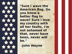 john wayne memorial day quotes