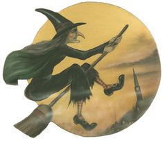 I have a thing for witches at Halloween.