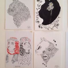 Office Supplies, Illustration, Illustrations