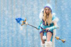 Crystal Maiden cosplay, Dota 2