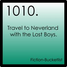 Fiction bucket list? What are you talking about? I will do this.