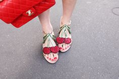 The Cherry Blossom Girl - Cherry on top shoes...