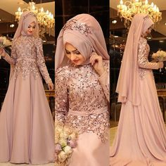 20 Best Dresses to Wear to a Wedding Hijabi Wedding, Wedding Hijab Styles, Muslimah Wedding Dress, Muslim Wedding Dresses, Dresses To Wear To A Wedding, Hijab Bride, Muslim Dress, Islamic Fashion, Muslim Fashion