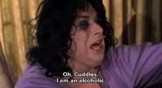 """Oh, Cuddles, I am an alcoholic. Divine​ (as Francine Fishpaw) from John Waters' Polyester, 1981 Stiv Bators, Holiday Meme, Tab Hunter, John Waters, Cuddling, Science Fiction, Told You So, Alcohol, Fictional Characters"