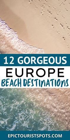 Looking for a Complete European Beaches Travel Guide? Here's everything you need to know before you go - tips, photos and travel advice on European Beaches Travel. Travel Destinations Beach, Beach Vacations, Beach Travel, Beach Trip, Honeymoon Packing, Bora Bora Honeymoon, Best Beaches In Europe, Beaches In The World, Travel Advice