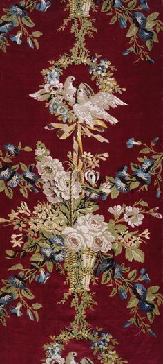 Panel Woven for the Summer Palace of Empress Cathereine II of Russia, Tsarskoe Selo, c. 1775. Designed by Philippe de LaSalle  French, 1723–1803/5  Woven and produced by Camille Pernon & Cie  France, Lyon.