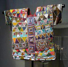 Africa / Royal Tunic from the Yoruba People of Ilara Ekiti State, Nigeria / century / Douglas Dawson Gallery, Chicago Textile Design, Textile Art, Yoruba People, Afrique Art, Art Perle, Tribal Costume, Art Premier, African Textiles, Tribal Art