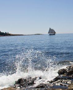Swans Island Maine by paolinipix, via Flickr #travel #maine #usa