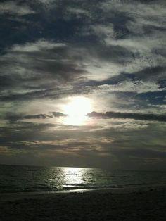 St. Pete Beach sunset on 8/1/13