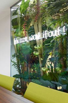 Green Walls Phoenix Real Estate - Office interior