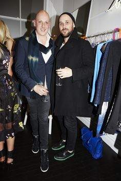 Michael Lo Sordo and Ryan Storer at Evening With Our Designers 2013 at Strand Arcade, featuring the launch of the 1891 publication, the We Are The Makers series, and our SS13 campaign. #fashion #event #EWOD #strandarcade