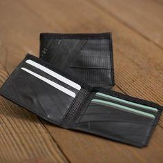 Recycled Innertube Wallet from Wikkerink Design $32
