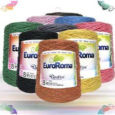 Escolhacor Barbante EuroRoma Colorido 8 - 457m (600g) @ Lã Formosa