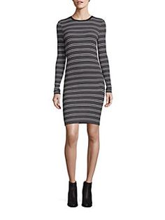 0f35f0d2a0 ATM Anthony Thomas Melillo - Engineered Striped Dress Anthony Thomas,  Striped Dress, Striped Dress