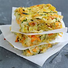Vegetable Kugel with Caramelized Leeks...sub rutabaga for potato and butternut squash for sweet potato...omit flour or use a nut flour.
