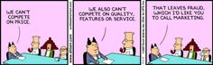 Dilbert and Marketing