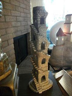 Famous Miniature Castles by artist/novelist, Farrell Hamann