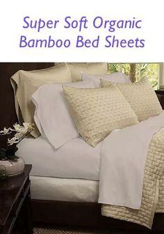 Super Soft Organic Bamboo Bed Sheets