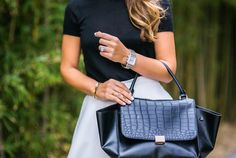 black and white with @michelewatches
