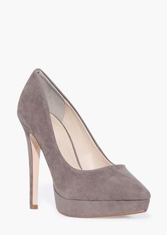 Midway Pump in Taupe | Necessary Clothing
