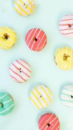 Cute donut wallpaper