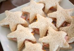 Star Shaped Sandwiches