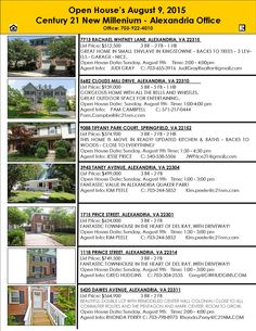 Find even more Open Houses at www.c21nm.com