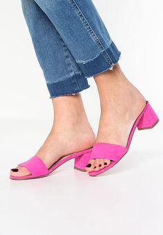 River Island Pantolette hoch - pink bright für 34,95 € (25.05.17) versandkostenfrei bei Zalando bestellen.