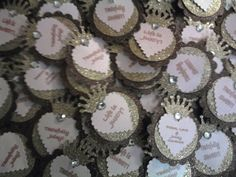 Juicy Couture Inspired tags- bridal shower theme except in purple of course