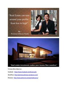 Bryan susilo and patricia susilo   making your life easier in real estate by bryannpatricia via slideshare https://twitter.com/bryansusilo007