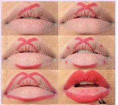 lipstick tutorial - Hľadať Googlom