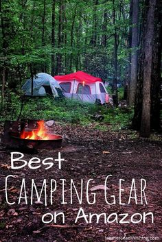 Are you looking for the Best Camping Gear on Amazon? I have a post for that. Check out my list of the best camping gear you can find on Amazon. | http://homesteadwishing.com/best-camping-gear-amazon/ | HomesteadWishin.com | Author, Kristi Wheeler | Camping-gear, best-camping-gear-amazon, camping-supplies-amazon, amazon-camping-list