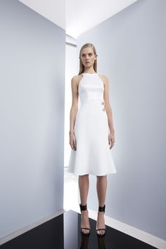 Emphatic Dress by CAMILLA AND MARC www.camillaandmarc.com/emphatic-dress-white.html