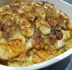 Cotes de Porc en Gratin de Pommes de terre