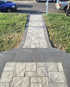Check out the Cambridge Pavingstones website and take a step towards the perfect walkway for your home!  Contractor: Stone Creations of LI