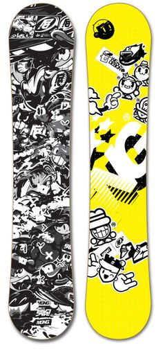 SHARE YOUR SNOWBOARD! by MGNG, via Behance
