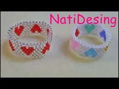 How to make a bracelet -easy beading pattern-DIY jewelry Seed Bead Jewelry, Bead Jewellery, Jewelry Making Beads, Easy Beading Patterns, Beaded Earrings Patterns, Bead Loom Bracelets, Bracelet Crafts, Beaded Rings, Diy Jewelry