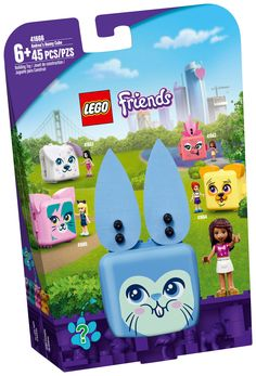 Lego Friends, Rabbit Toys, Bunny Toys, Cubes, Play Cube, Lego Universe, Cadeau Surprise, Lego Mindstorms, Bunny Face