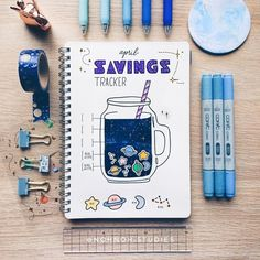 Her work is always gorgeous! @nohnoh.studies Blue week is sponsored by the washi tapeshop! For 10% use theartofbujo on check out – the link…