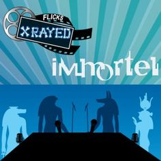 """Season 1 Episode 11 of Flicks XRayed is about the film Immortal a. Ad Vitam, Jeff and Tony are Joined by sound guy Bryan and Don't Call Me Lovely Natasha. Where we discuss the animation, Jiggly Boobs and """"Rapey"""" Egyptian Gods. Crocodile Dundee, Dont Call Me, 3d Animation, Season 1, Egyptian, Boobs, Guys, Film, Movie Posters"""