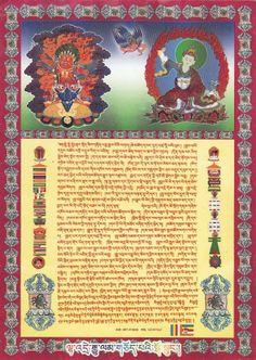Guru Tragpur & Gurur Rimpoche