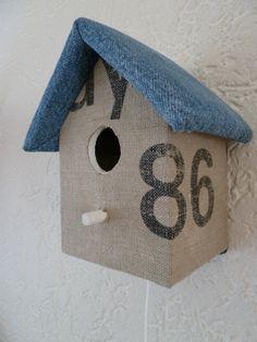 Nice birdhouse for a boy!
