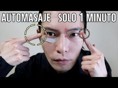 Remove eye wrinkles with this easy 1 minute facial massage Healthy Skin Care, Tips Belleza, Face Skin, Make Up, Videos, Nature, Beauty, Medicine, Health And Wellness