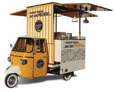 Gustavo, Ape Piaggio street food Polenta VS Veicoli Speciali…: