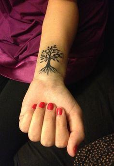 Astounding Small Tree Tattoo For Girls, New Flower Tattoos December 2016