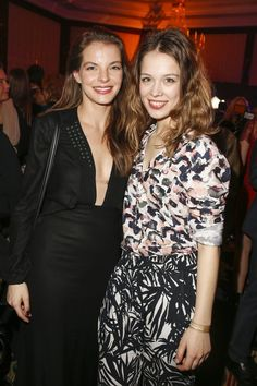 Pin for Later: Das war die 66. Berlinale: Seht alle Stars und alle Outfits Tag 3 Yvonne Catterfeld und Paula Beer