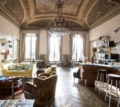 Ad Astra Hotel works rather well: the eclectic interiors, replete with standout contemporary art, make for a satisfying foil to this placid corner of Florence.