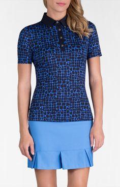 Arya Top - Modern Oasis for Golf - Women's Golf Apparel - Tail Activewear