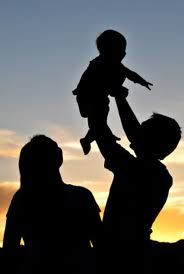 mom and baby silhouette - Google Search